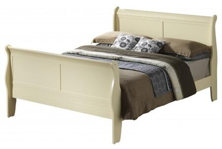 Glory Furniture G3175AFB  Full Size Sleigh Bed