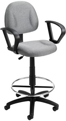 "Boss B1617GY 26"" Adjustable Contemporary Office Chair"