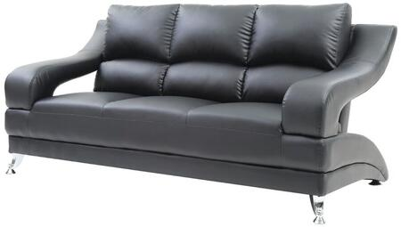 Glory Furniture G243S  Stationary Faux Leather Sofa