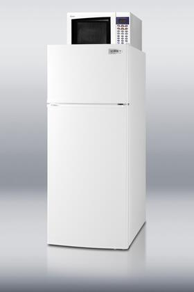 Summit MRF1112  Freestanding  Refrigerator with 10.3 cu. ft. Capacity, 2 Wire ShelvesField Reversible Doors  Appliances Connection