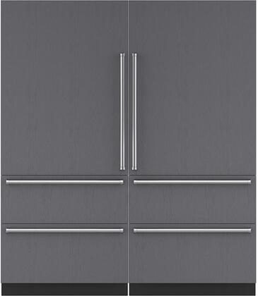 Sub-Zero 710381 Side-By-Side Refrigerators