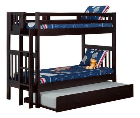 Atlantic Furniture AB63131  Twin Size Bunk Bed