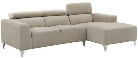 Glory Furniture G191SCH  Stationary Suede Sofa
