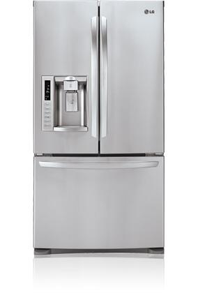 LG LFX28978ST  French Door Refrigerator with 27.6 cu. ft. Total Capacity 4 Glass Shelves