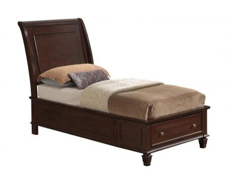 Glory Furniture G1700BTSB  Twin Size Storage Bed