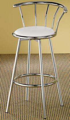 Coaster 2243W  Vinyl Upholstered Bar Stool