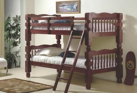 Donco 11102M  Twin Size Bunk Bed