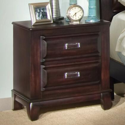American Woodcrafters 22000420  Rectangular Wood Night Stand