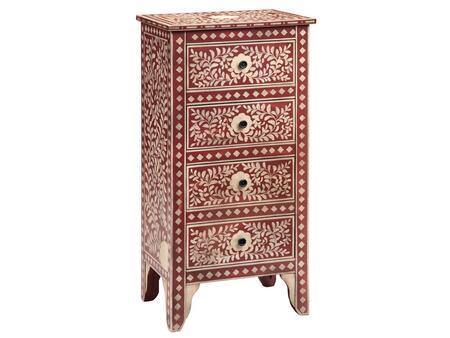Stein World 12421 Venezia Series Freestanding Wood 4 Drawers Cabinet