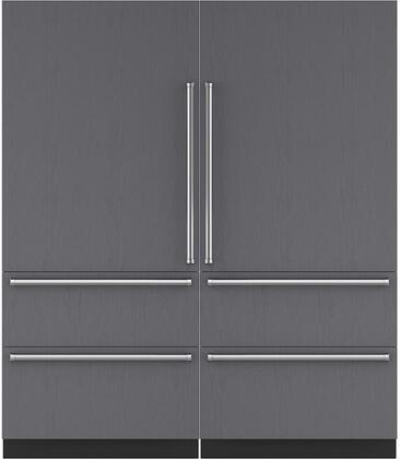 Sub-Zero 710453 Side-By-Side Refrigerators