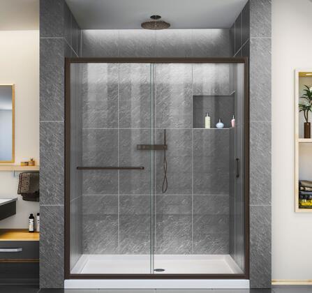 DreamLine Infinity Z Shower Door 60 ORB