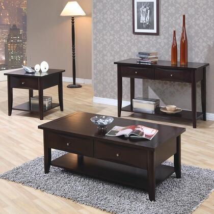 Coaster 700967ECS Whitehall Living Room Table Sets