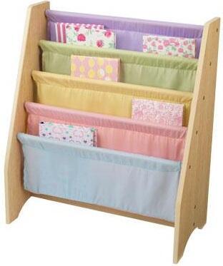 KidKraft 14225 Childrens Wood 4 Shelves Bookcase