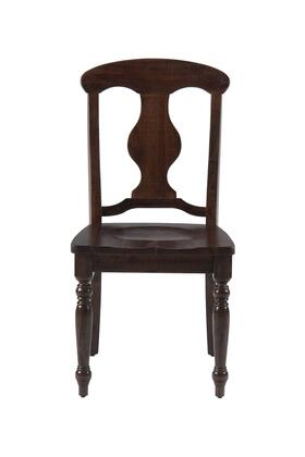 Jofran 733709KD Urban Lodge Series Traditional Not Upholstered Wood Frame Dining Room Chair