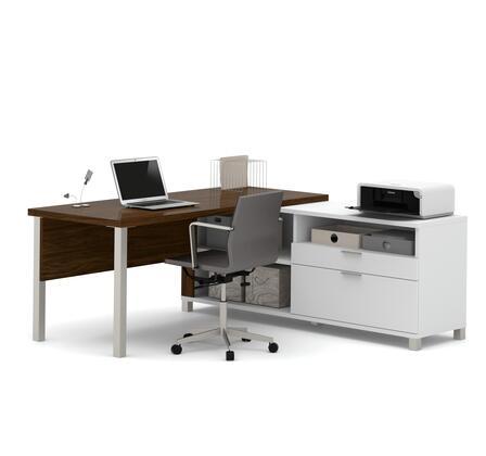 Bestar Furniture 120883 Pro-Linea L-Desk