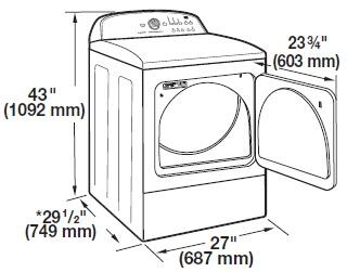 whirlpool cabrio dryer owners manual
