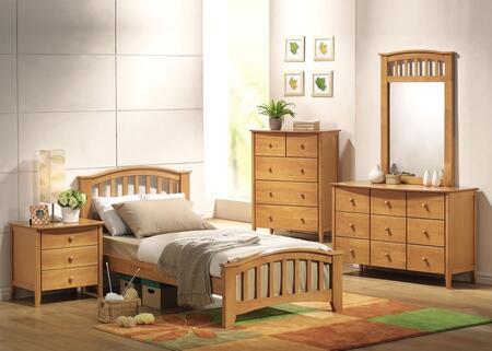 Acme Furniture 08940TDMCN San Marino Twin Bedroom Sets