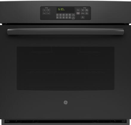 """GE JT3000 30"""" 5.0 cu. ft. Built-In Single Wall Electric Oven With Self-Clean Heavy-Duty Oven Racks, 10-Pass Bake Element, 8-Pass Broil Element, Electronic Touch Controls and Hidden Bake Oven Interior in"""