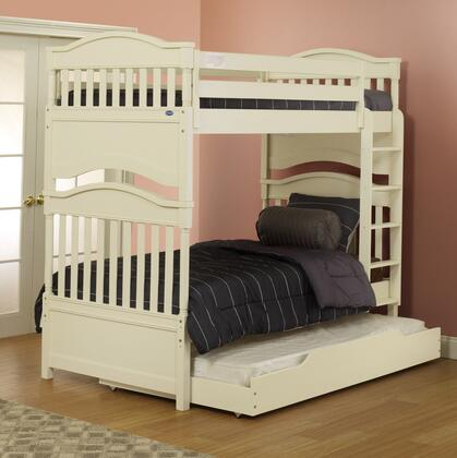 Orbelle Imperial 4000 Contemporary Hand Crafted Bunk Bed With Solid Beech Wood Construction, Steel Bolt Re-Enforcements On Ladder, Slat Support System & In