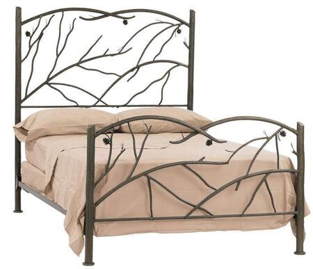 Stone County Ironworks 904096  King Size HB & Frame Bed