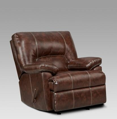 Chelsea Home Furniture 192800CCA Kira Series Contemporary Polyester Wood Frame Rocking Recliners