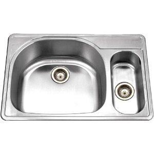 Houzer PMG3322SL1 Kitchen Sink