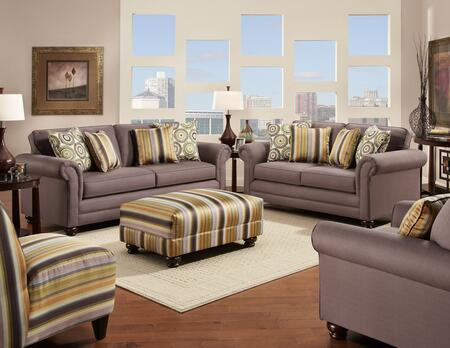 Chelsea Home Furniture 632239032SLO2CH Trieste Living Room S