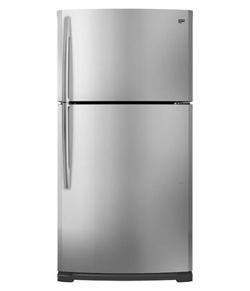 Maytag M1BXXGMYM  Refrigerator with 20.5 cu. ft. Capacity in Monochromatic Stainless Steel