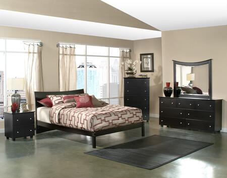 Atlantic Furniture SOHOFESTW  Twin Size Bed