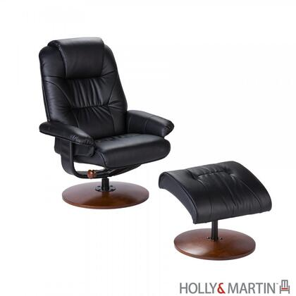 Holly & Martin UP49XXRC Bonded Leather Recliner and Ottoman