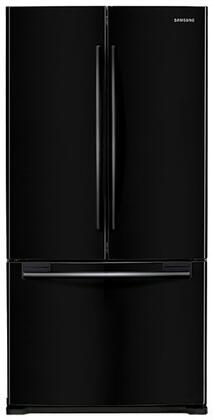"""Samsung RF18HFENBxx 33"""" Wide French Door Refrigerator with 18 Cu. Ft. Capacity, 2 Humidity-Controlled Crispers, Automatic Filtered Ice Maker, Power Freeze, Power Cool, and Twin Cooling System:"""
