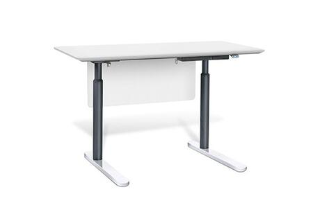 "Unique Furniture 7400XX Height Adjustable Sit Stand Desk 55"""