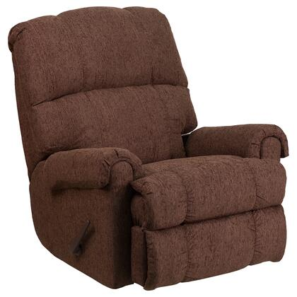 Flash Furniture WM870054 Contemporary Couger Chenille Rocker Recliner
