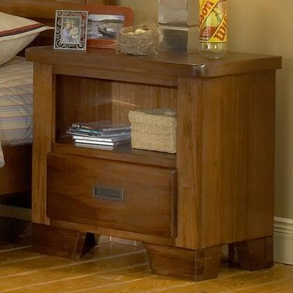 American Woodcrafters 1800410  Rectangular Wood Night Stand