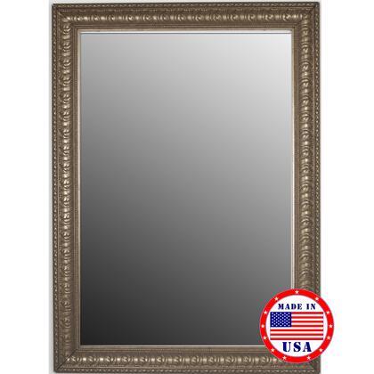 Hitchcock Butterfield 80970X 2nd Look Ocean Waves Moonlight Silver Framed Wall Mirror