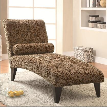 Coaster 902076 Accent Seating Series Transitional Fabric Chaise Lounge