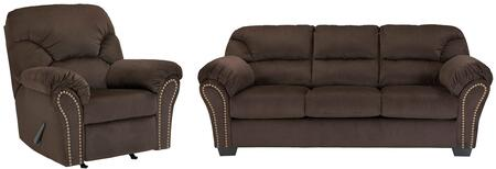 Milo Italia MI3245SRCHOC Madison Living Room Sets