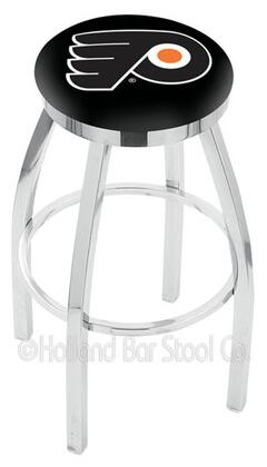 Holland Bar Stool L8C2C25PHIFLYB Residential Vinyl Upholstered Bar Stool
