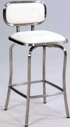 Chintaly 1192CSWHT  Bar Stool