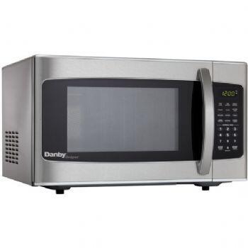 Danby DMW111KSSDD Countertop Microwave, in Stainless Steel