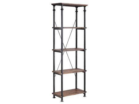 Stein World 57250 Poplar Estates Series Wood 4 Shelves Bookcase