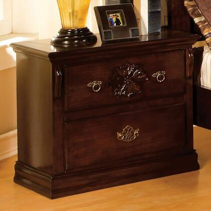 Furniture of America CM7571N Tuscan II Series  Night Stand