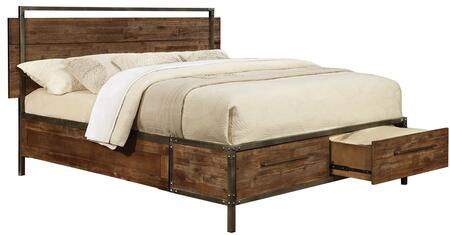 Coaster 203801Q Arcadia Series  Queen Size Platform Bed