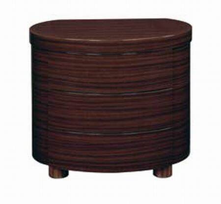 Global Furniture USA B110SNS Global Furniture USA Series  Wood Night Stand