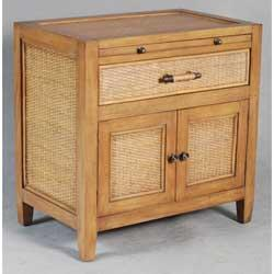 Ambella 31004230001 Ocean Vista Series Rectangular Wood Night Stand