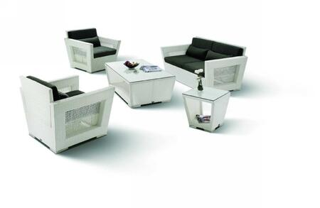 VIG Furniture H07WHT Modern Patio Sets
