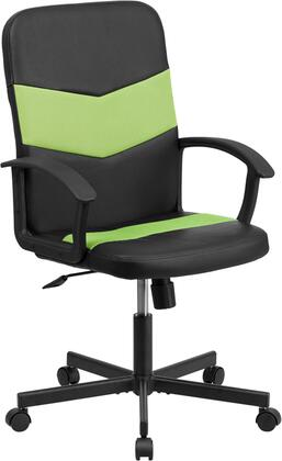 "Flash Furniture CPB301C01BKGNGG 23.75"" Adjustable Contemporary Office Chair"