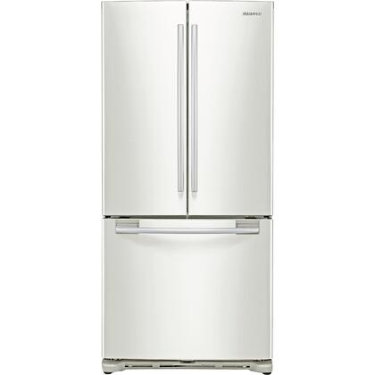 Samsung Appliance RF217ACWP  French Door Refrigerator with 20 cu. ft. Total Capacity 3 Glass Shelves