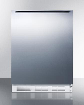 "AccuCold VT65MSSHHADA 24""  Freezer with 3.5 cu. ft. Capacity in Stainless Steel"
