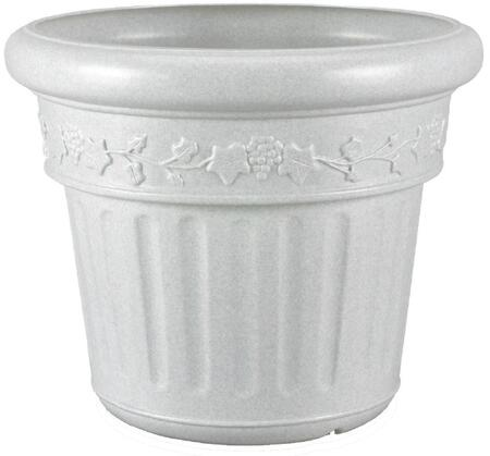 Patio Living Concepts 0021 Decorative Planter With Polyethylene Resin Construction, High Density Construction, In
